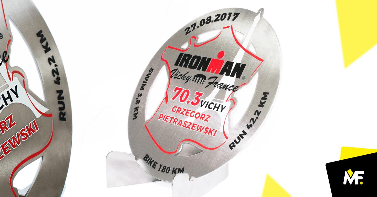 Medaille auf Wettbewerb:  Iron Man Vichy France