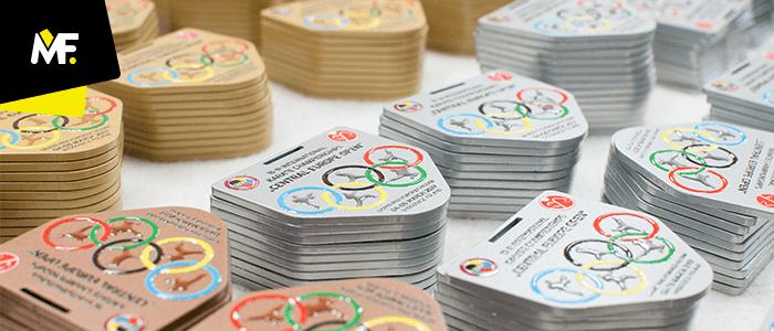 Medaillen anlässlich Central Europe Open