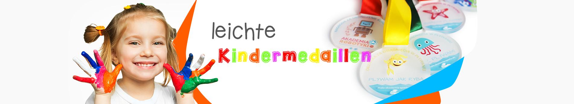 Einzigartige Kindermedaillen