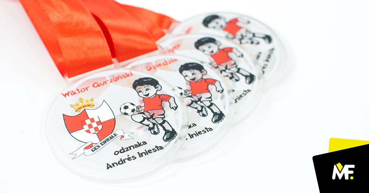 Personalisierte Medaillen, Auszeichung Andrés Iniesta