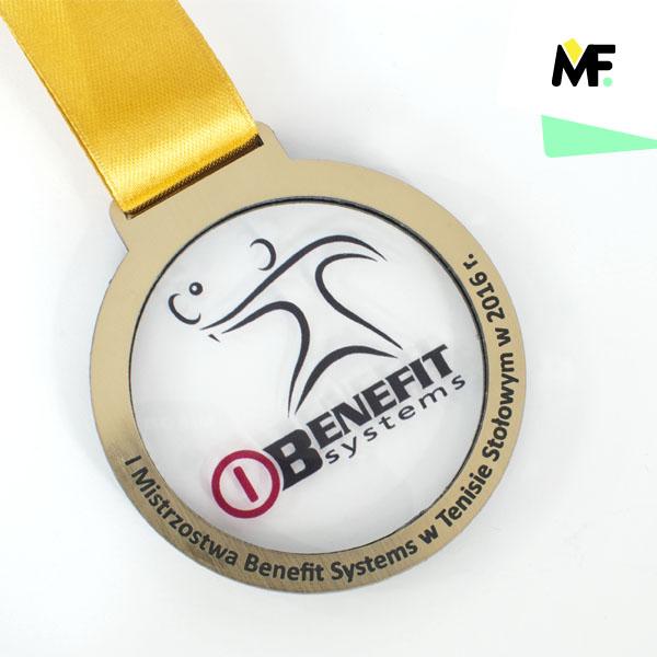Sportmedaille Benefit Systems 1. Tischtennis-Meisterschaft 2016