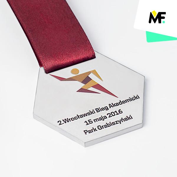 Laufmedaille – Akademischer Lauf in Breslau 2016
