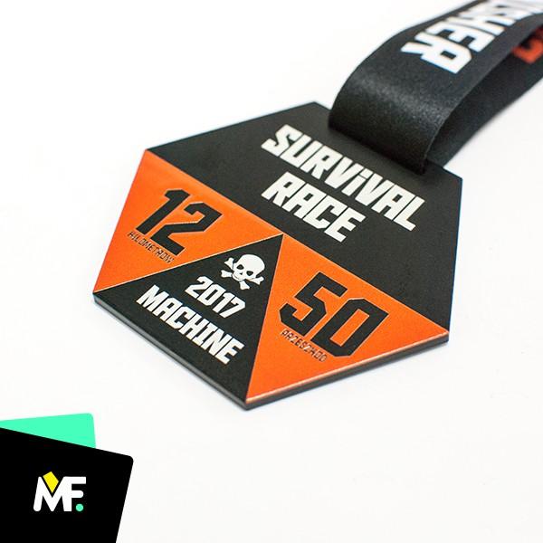 Sportmedaillen Survival Race 2017