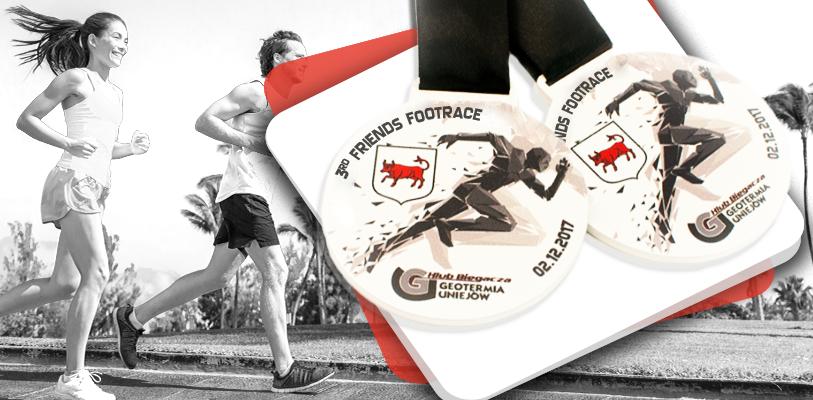 Sportmedaille für den Familienlauf
