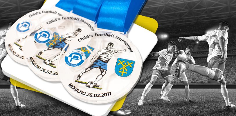 medaille-plexiglas-fussball